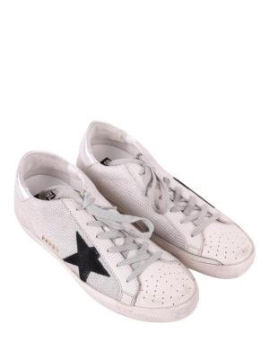 Golden Goose: trainers online - Superstar fabric low top sneakers