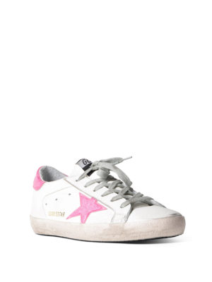 Golden Goose: trainers online - Superstar glossy detailed sneakers
