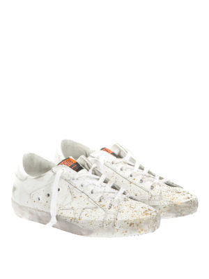 Golden Goose: trainers online - Superstar gold spotted sneakers