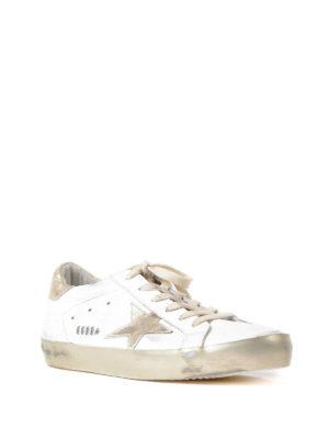 Golden Goose: trainers online - Superstar gold star leather sneaker