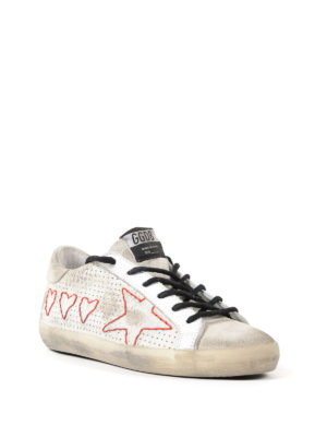 Golden Goose: trainers online - Superstar hearts and stars sneakers