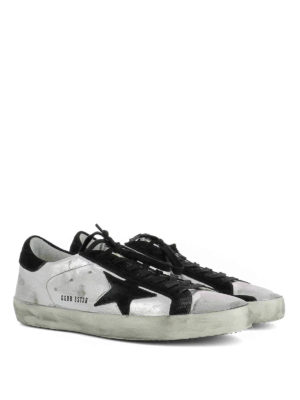 Golden Goose: trainers online - Superstar laminated sneakers