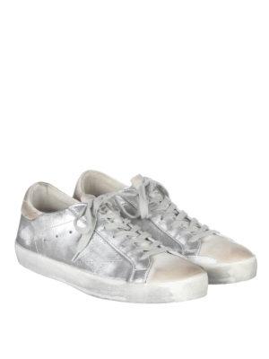 Golden Goose: trainers online - Superstar laminated sneakers
