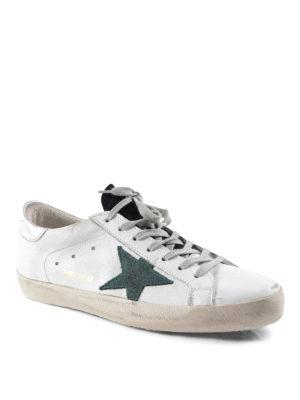 Golden Goose: trainers online - Superstar leather sneakers