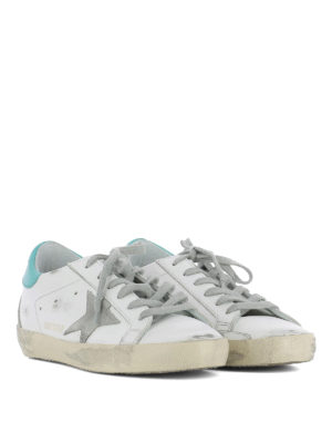Golden Goose: trainers online - Superstar logo and patch sneakers