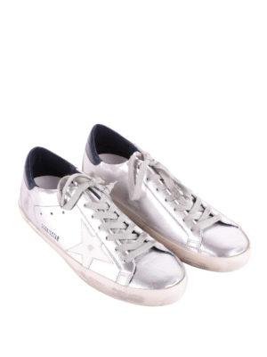 Golden Goose: trainers online - Superstar mirror leather sneakers