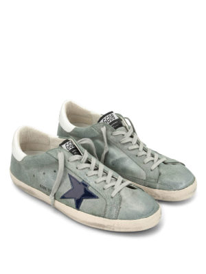 Golden Goose: trainers online - Superstar patent star sneakers