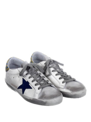 Golden Goose: trainers online - Superstar polka dot back sneakers