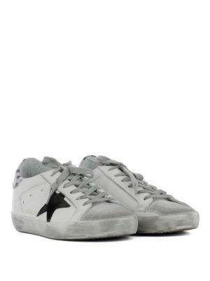Golden Goose: trainers online - Superstar polka dot detail sneakers