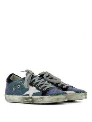 Golden Goose: trainers online - Superstar sequined sneakers