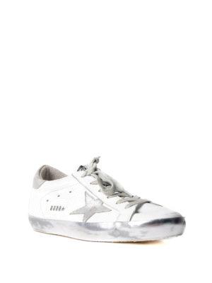 Golden Goose: trainers online - Superstar silver star sneakers