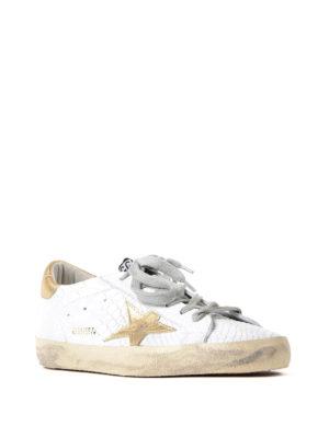 Golden Goose: trainers online - Superstar snake print sneakers