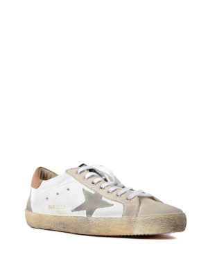Golden Goose: trainers online - Superstar suede detail sneakers