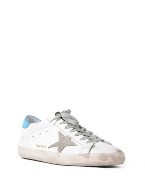 Golden Goose: trainers online - Superstar suede detailed sneakers