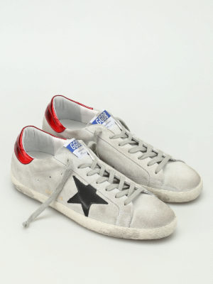 Golden Goose: trainers online - Superstar suede sneakers