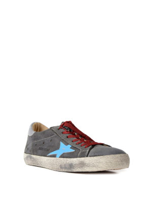 Golden Goose: trainers online - Superstar suede sneakers