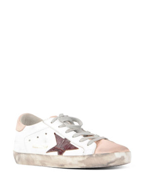 Golden Goose: trainers online - Superstar two-tone sneakers