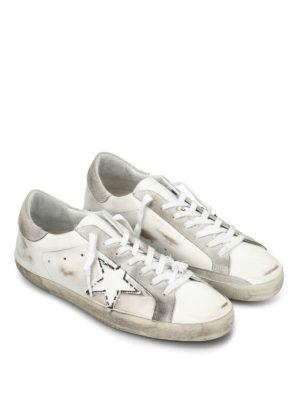 Golden Goose: trainers online - Superstar used effect sneakers