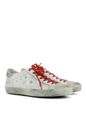 Golden Goose: trainers online - Superstar used effect sneakers