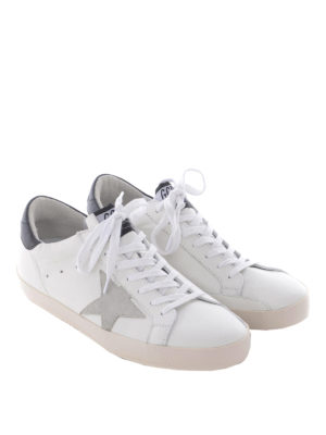 Golden Goose: trainers online - Superstar white leather sneakers