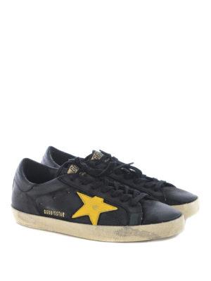 Golden Goose: trainers online - Superstar yellow star sneakers