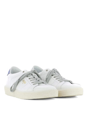 Golden Goose: trainers online - Tennis smooth leather sneakers