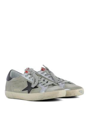 Golden Goose: trainers online - Three-tone Superstar sneakers