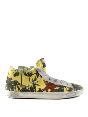 Golden Goose: trainers - Palm printed trainers