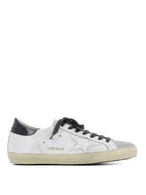 Golden Goose: trainers - Patent insert Superstar sneakers