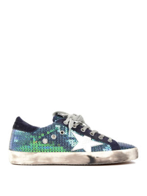 Golden Goose: trainers - Sequined Superstar sneakers