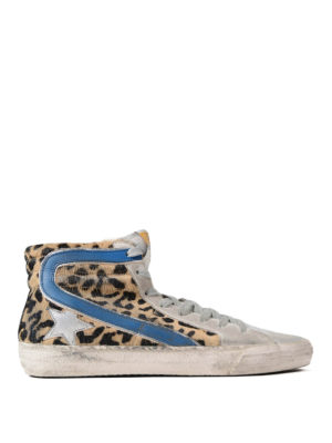 Golden Goose: trainers - Slide Archive high top sneakers
