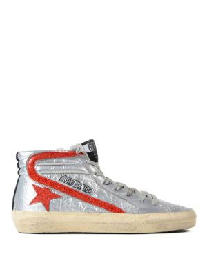 Golden Goose: trainers - Slide Archive metallic sneakers