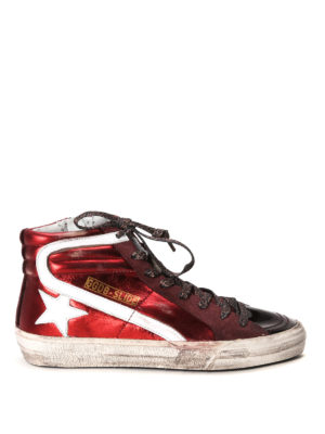 Golden Goose: trainers - Slide high top sneaker