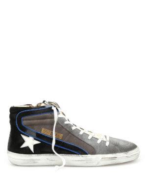 Golden Goose: trainers - Slide mid top sneakers