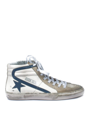 Golden Goose: trainers - Slide used effect high-top sneakers
