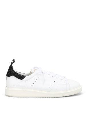 Golden Goose: trainers - Starter glitter detail sneakers