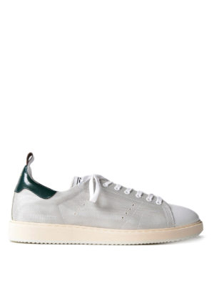 Golden Goose: trainers - Starter green detailed sneakers