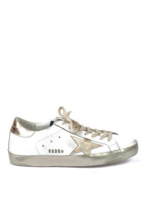 Golden Goose: trainers - Starter metallic inserts sneakers
