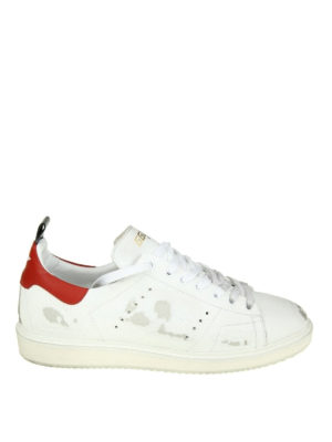 Golden Goose: trainers - Starter used effect leather sneaker