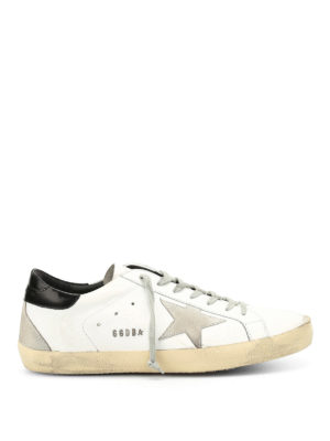 Golden Goose: trainers - Super Star leather sneakers