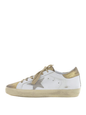 Golden Goose: trainers - Superstar bicolour leather sneakers