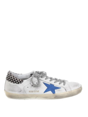 Golden Goose: trainers - Superstar calf hair back sneakers