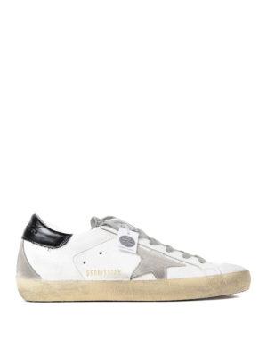 Golden Goose: trainers - Superstar crystal glitter sneakers