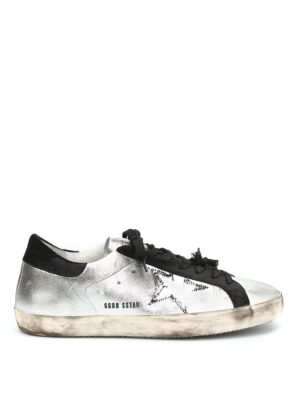Golden Goose: trainers - Superstar dirty effect sneakers