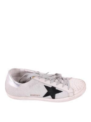 Golden Goose: trainers - Superstar fabric low top sneakers