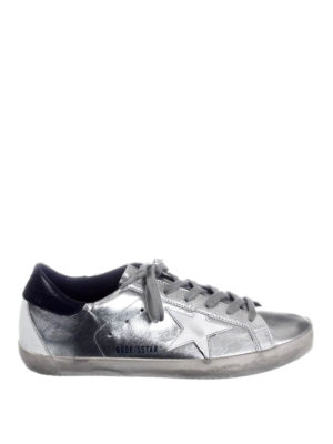 Golden Goose: trainers - Superstar laminated leather sneaker