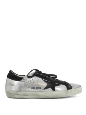 Golden Goose: trainers - Superstar laminated sneakers
