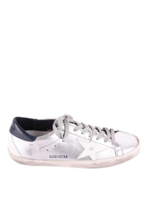 Golden Goose: trainers - Superstar mirror leather sneakers