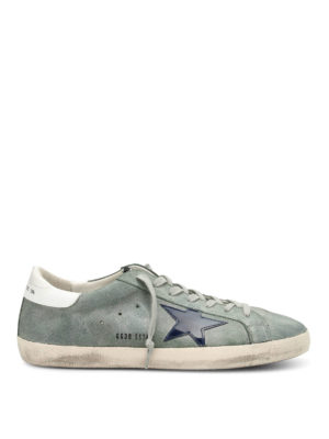 Golden Goose: trainers - Superstar patent star sneakers