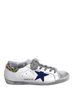 Golden Goose: trainers - Superstar polka dot back sneakers